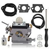 Alibrelo 581734301 Carburetor for Husqvarna 122C 122LDX 122LD 122LK Trimmer Edger Replace 574386701 967252801