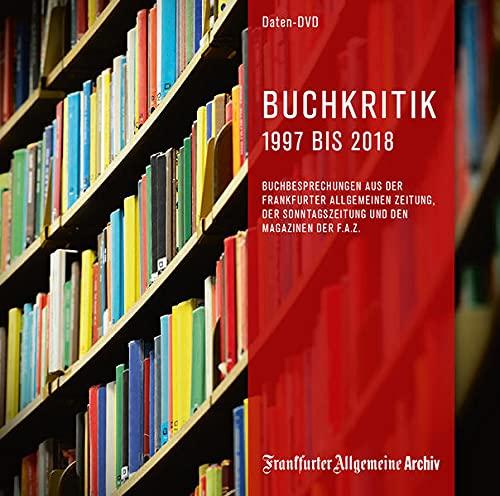 Buchkritik 1997 bis 2018, 1 DVD-ROMBuchbesprechungen aus der Frankfurter Allgemeinen Zeitung, der Sonntagszeitung und den Magazinen der FAZ. Windows