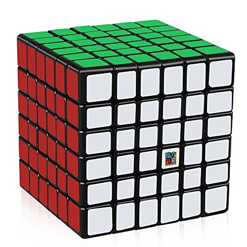 D-FantiX Moyu Cubing Classroom Meilong 6x6 Speed Cube 6x6x6 Magic Cube Puzzle Toy Black