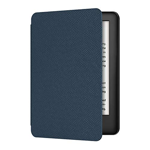 Ayotu 2019 Kindle Ledertasche - Amazon New Kindle Schutzhülle (10. Generation - Modell 2019), Dunkelblau