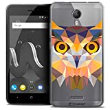 Ultra-Slim Polygon Animal Owl Case for 5 inch Wiko Jerry 2