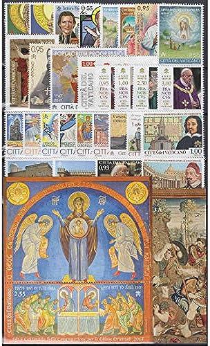 Goldhahn Vatikan 2017 postfrisch  Nr. 1889-1919 Block 53-54 Briefmarken für Sammler