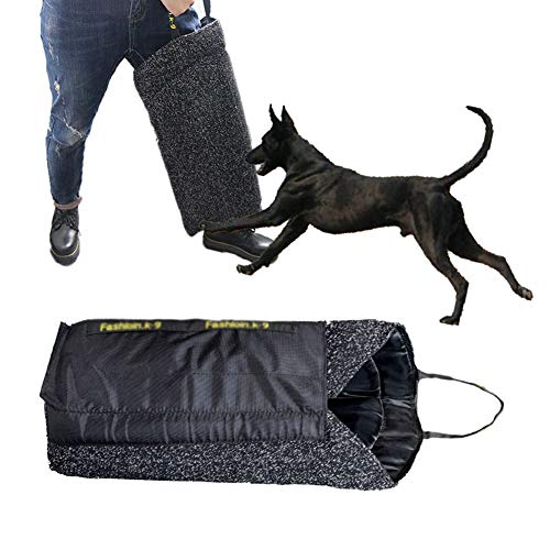 XXDYF Dog Training Bite Leg Sleeves with Handle, Dogs Training Protection Biting Leg Sleeve Fit Malinois Police K9 German Shepherd Mastiff