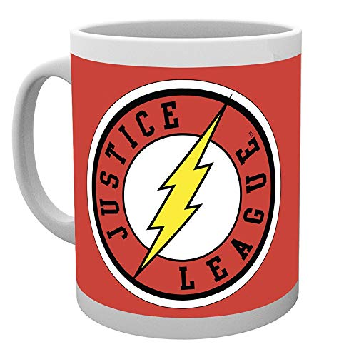 GB Eye, DC Comics, The Flash, Ligue de Justice, Mug