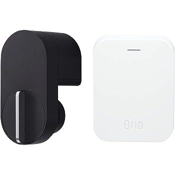 Qrio Lock・Qrio Hubセット スマホでカギを開閉 外出先からカギを操作できる スマートロック スマートフォン 電子キー 対応 キュリオロック キュリオハブ