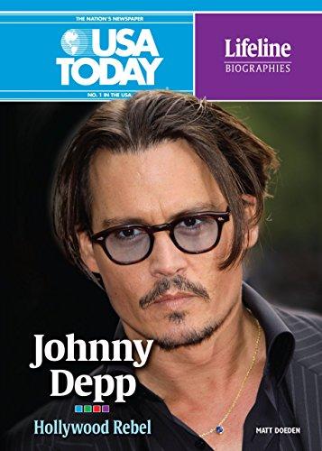 Johnny Depp: Hollywood Rebel (USA Today Lifeline Biographies)