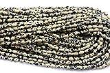 LKBEADS 1 hebra natural negro t piedra dálmata forma de arroz suelta pequeñas cuentas ovaladas 8 x 10 mm de largo 03818 Code-HIGH-29934