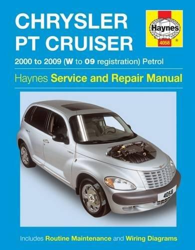 Chrysler PT Cruiser Petrol (00 - 09) Haynes Repair Manual