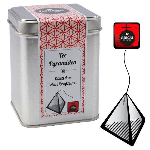 Henosa Bergkräuter Tee Pyramiden