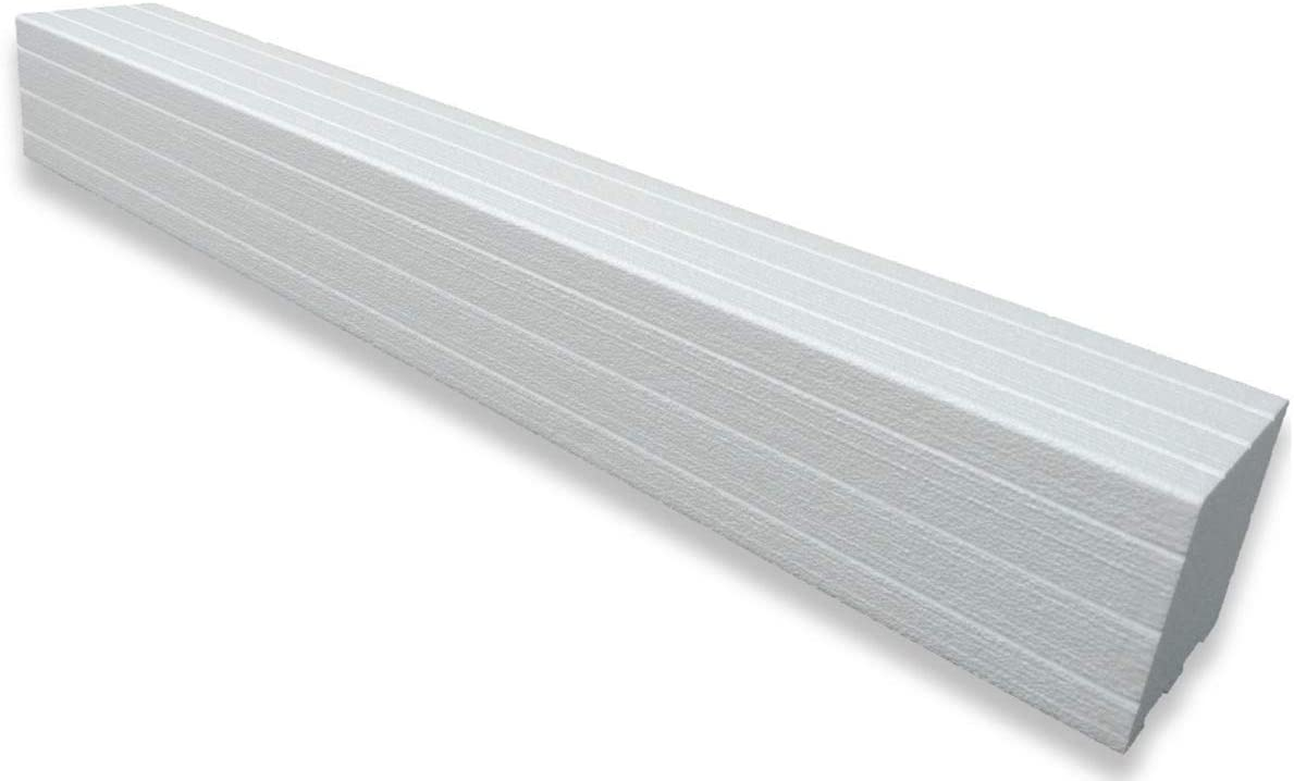Trugard Shower Curb Kit 5 Tall Tile Ready Trimmable Polystyrene Easy Diy Floor Installation Choose From 36 48 60 Or 72 Inch Curbs 36 Curb Amazon Com