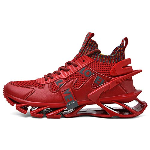 PHGo Zapatos Moda Hombres Zapatillas Casuales Deportes Calzado Correr Caminar Transpirable Cómodo Antideslizante Ligero