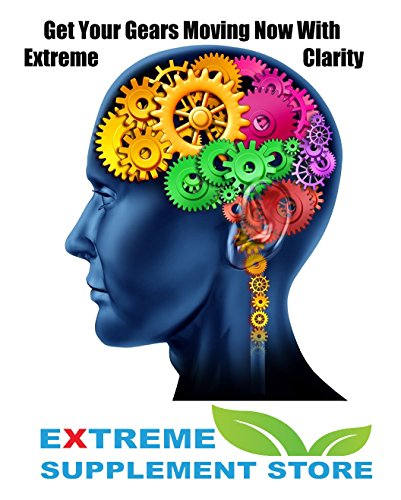 Extreme Clarity Best Brain Booster Supplements Organic No Gluten. Our Natural Brain Supplement Provides A Natural Calm Mental Clarity and Energy. Natural Brain Booster Function Supplement Nootropic