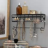 Simplify Jewelry Organizers - Hang Bracelets, Earrings, Necklaces, Scarves, Accesories - Black - 13.7'x 5'x 6.7'