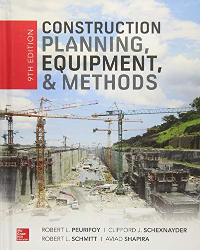 Download Construction Planning, Equipment, and Methods, Ninth Edition 1260108805