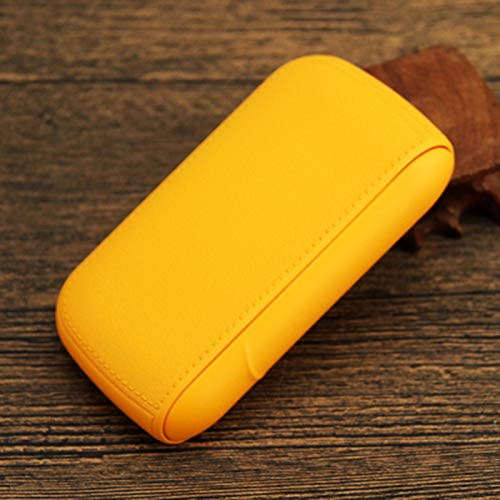 ASDFY con USB Encendedor electrónico Estuche para Cigarrillos Estuche para Cigarrillos de Cuero para Hombres y Mujeres Estuche para Cigarrillos portátil de Bolsillo para 10 Cigarrillos