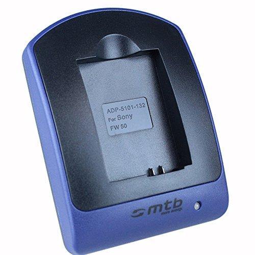 Cargador (Micro-USB, sin Cables/adaptadores) para Sony NP-FW50 / RX10 II/Alpha 5000, 5100,...
