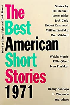 Best American Short Stories, 1971 0395127092 Book Cover