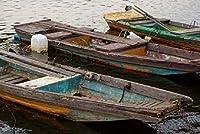 APANジグソーパズル大人用1000ピース-古い木製ボート-エンターテインメント木製パズルおもちゃ