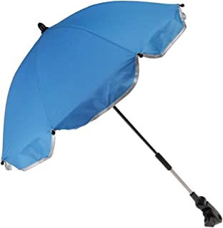 Baoblaze Baby Kids Toddlers Pram Parasol Stroller Umbrella Sun Protection UV Shade Pushchair Accessories - Blue, as described