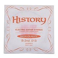 HISTORY HEGSH013 エレキギター弦 B-2nd .013 バラ弦1本 (ヒストリー)