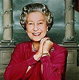 Poster Queen Elizabeth II, 46 x 61 cm