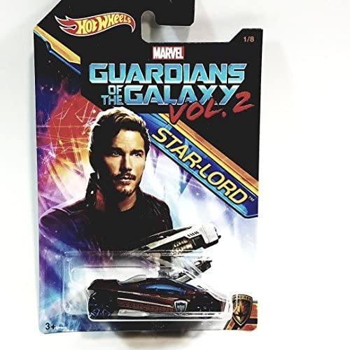 Hot Wheels Marvel Guardians of The Galaxy Starlord Sling Shot 2017 Collectors Edition 1 64 Scale product image