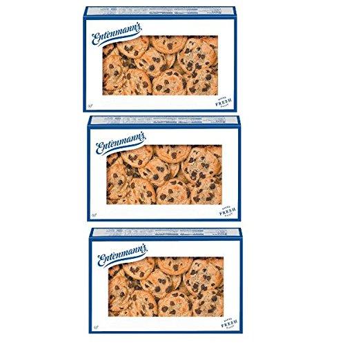 Entenmann's Cookies Soft Baked Original Recipe Chocolate Chip 12-oz 3 PACK