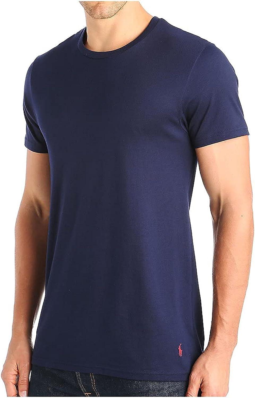 Polo Ralph Lauren Men's Tall Man Supreme Cotton Classic Crew Neck T-Shirt P043RT