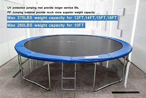 Exacme 14ft S-series trampoline