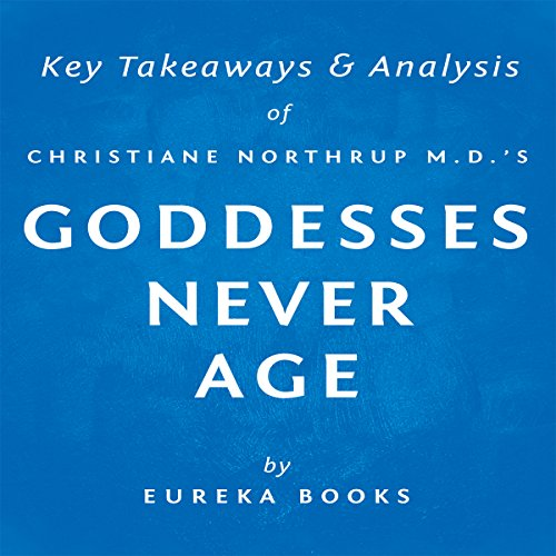 Goddesses Never Age by Christiane Northrup M.D. audiobook cover art