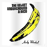 Andy Underground Velvet Nico The Banana Warhol Póster de impresión de arte de pared para decoración del hogar !
