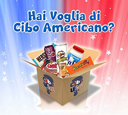 Cibo USA Box - Box Snack Americani Dolci/Salati & Drinks a Sorpresa - American Food Mystery Box