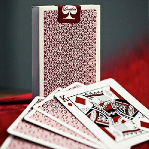 Mazzo di carte Bordered Dealers by Daniel Madison & Ellusionist - Red - Mazzi Ellusionist - Carte da gioco - Giochi di Prestigio e Magia