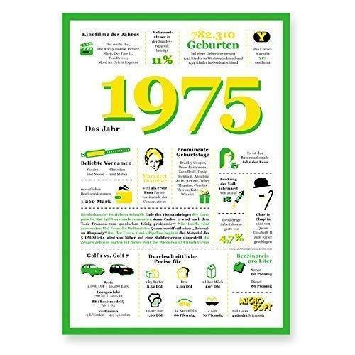 Tolle Geschenkidee: Jahreschronik 1975