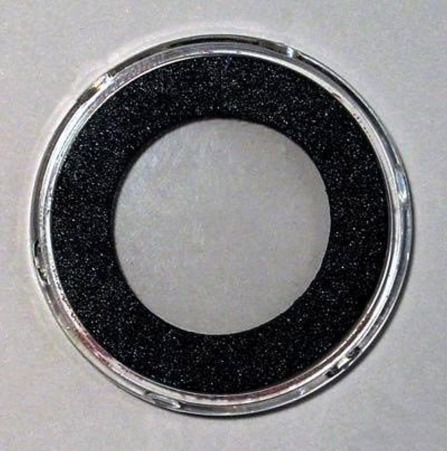 25 AirTite H Black Ring Coin Holders for 30mm Coins by AirTite
