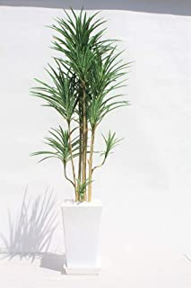 インテリアグリーン人工観葉植物・新ユッカ・光触媒品受け皿付き