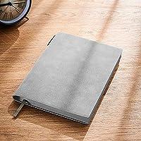 オフィスのノート/日記 シンプルなノートブックビジネス肥厚A5ソフトレザー会議ノートブックオフィスハイエンドワークノートレトロな学生アート、ファイン学習日記 (色 : Green)
