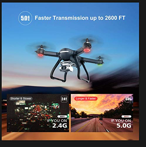 Holy Stone HS700D FPV 2K FHD Camera Drone