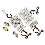 信玄 レガシィワゴンBP系用LEDルームランプ+T10 10点計84発