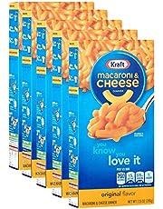 Kraft macaroni & chesse, 5 paquetes de 206 g