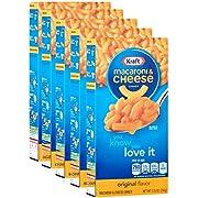 Kraft Macaroni and Cheese The Cheesiest, 5er Pack (5 x 206 g Packung)