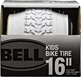 BELL 7091033 Kids Bike Tire, 16' x 1.75-2.25', White