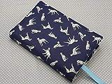 Handmade Adjustable Book Cover Case Sleeve Buddy Diary Jacket Sleeve A5 Dalmatian Dog