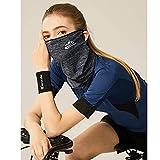 mewmew フェイスカバー【冷感】ネックガード UVカット 紫外線対策 フェイスカバーメンズ 耳かけタイプ UPF50+ 日焼け防止 UVフェイスガード 伸縮・通気性 呼吸しやすい 男女兼用