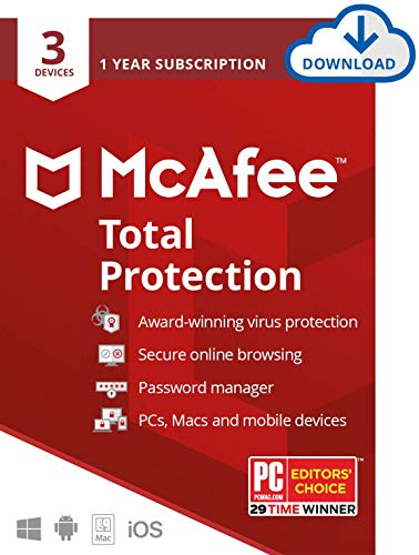 McAfee Total Protection 2021, 3 ...