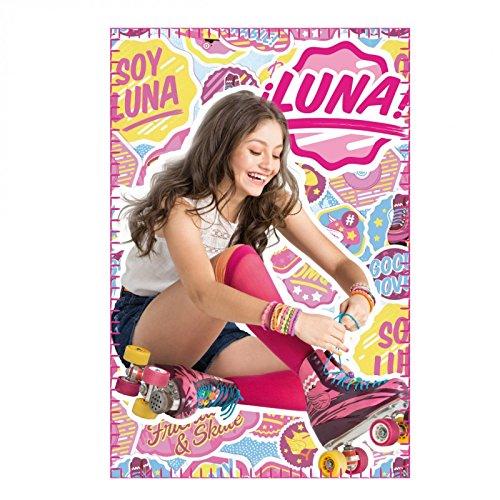 Soy Luna Manta Polar, Color Rosa, 200 x 240 Centimeters (Artesanía Cerdá 2200001746)