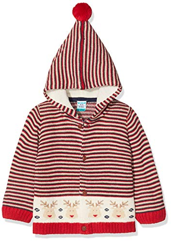 Top Top Baby-Jungen renoso Mantel, Mehrfarbig (Multicolor 100), 86 (Herstellergröße: 18-24)