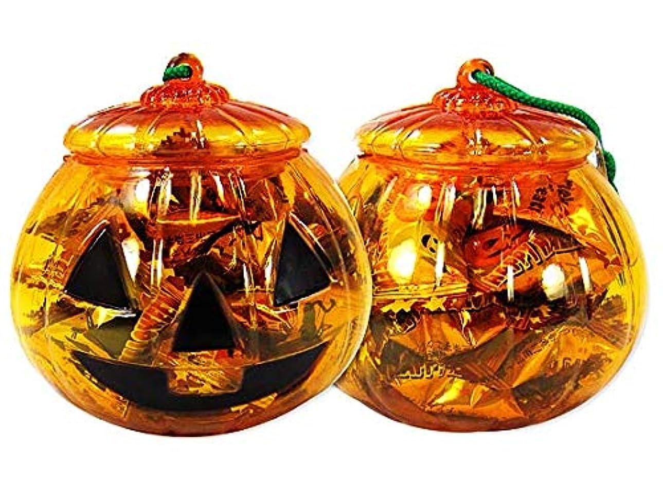 シャーロットブロンテお肉資金ハロウィン限定 アメハマ ハロウィンかぼちゃポット キャンディ 70g (1個売り) 飴 お菓子 詰め合わせ セット
