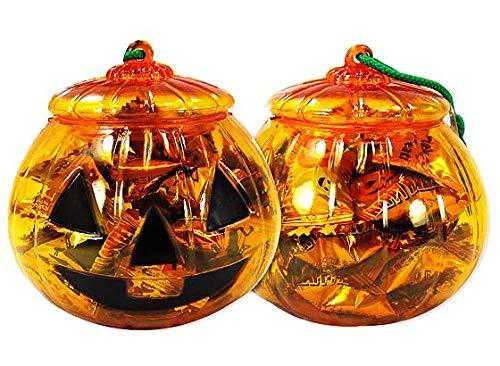 ハロウィン限定 アメハマ ハロウィンかぼちゃポット キャンディ 70g (1個売り) 飴 お菓子 詰め合わせ セット