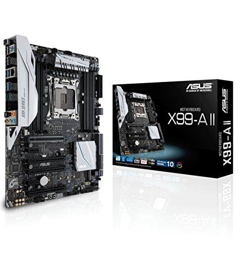ASUS LGA2011-v3 5-Way Optimization SafeSlot X99 ATX Motherboard X99-A II